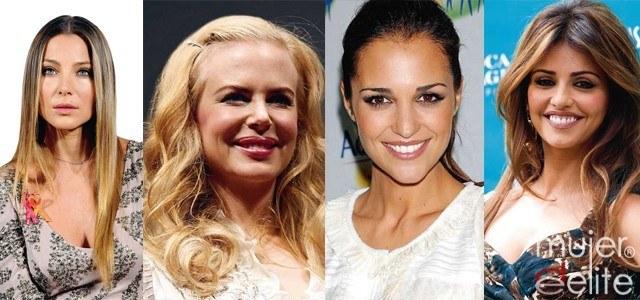 Foto Nicole Kidman y Elsa Pataky muestran un rostro distinto al de hace años