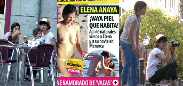 Foto Elena Anaya pillada desnuda con su novia, en Menorca