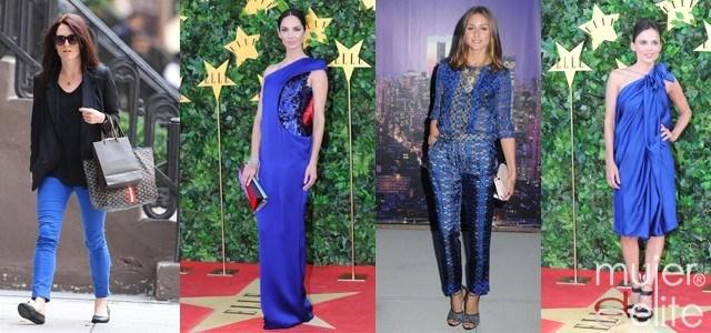 Foto Las celebrities apuestan por el azul Klein