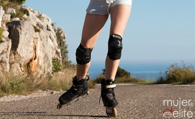 Foto Consigue unas piernas y glúteos firmes gracias al patinaje