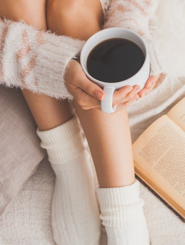 Foto Beber café te pone guapa