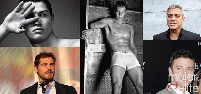 Foto Iker Casillas, Justin Timberlake, Rafa Nadal, George Clooney y Cristiano Ronaldo, modelos a seguir por los hombres