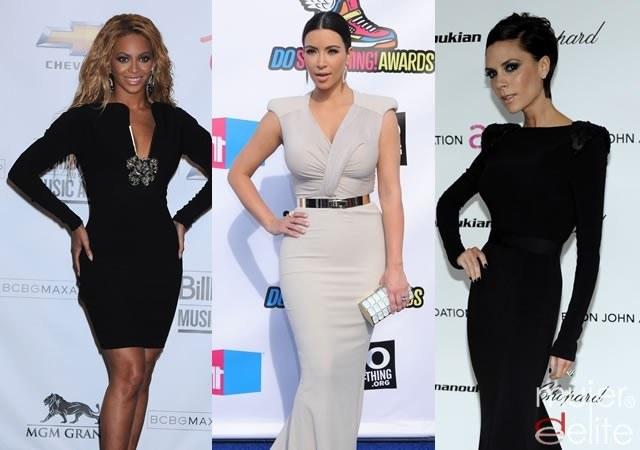 Foto Beyoncé, Kim Kardashian y Victoria Beckham usan lencería reductora