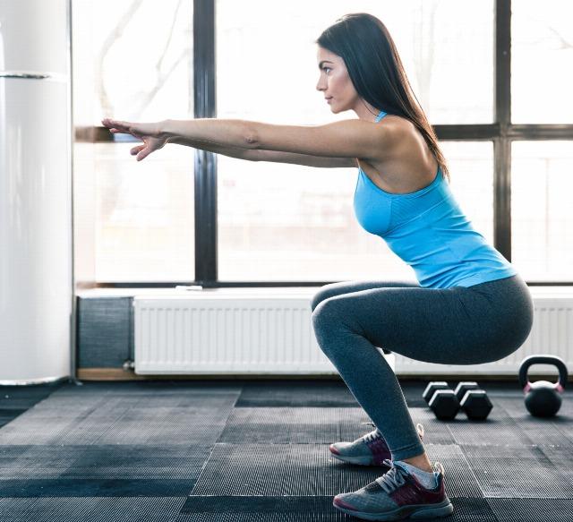 Foto Pocos ejercicios son tan efectivos para lucir unas piernas firmes como las sentadillas