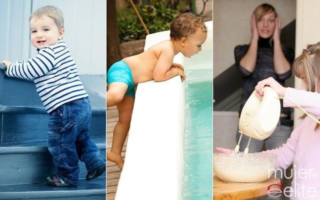Foto Medidas para evitar los accidentes más frecuentes de los niños en el hogar
