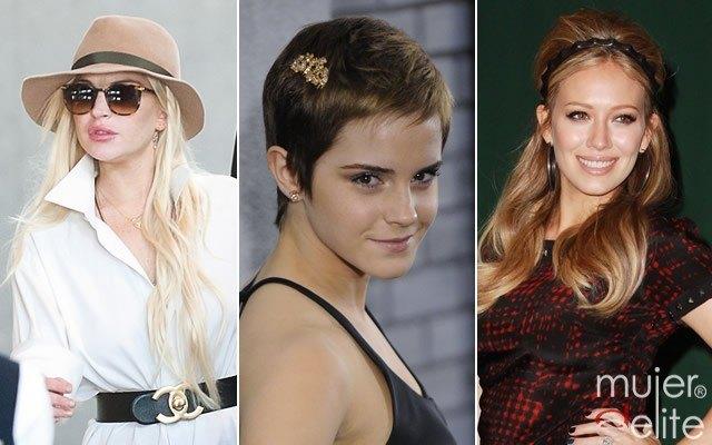 Foto Los complementos y accesorios de las famosas para el pelo, este otoñoinvierno