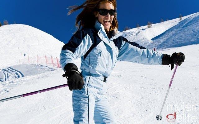Foto Tabla de ejercicios esquí