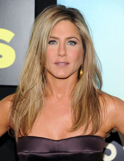 Jennifer Aniston y su copiada melena con mechas