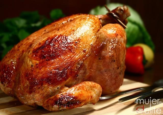 Foto Pintada al estilo jamaicano, receta navideña baja en calorías y apta para la dieta Dukan