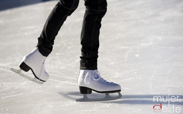 Foto Consigue un cuerpo diez gracias al patinaje sobre hielo
