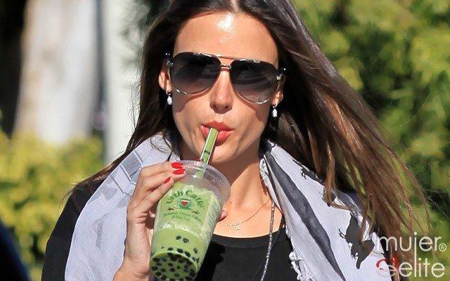 Foto Las famosas cuidan de su silueta con zumos vegetales