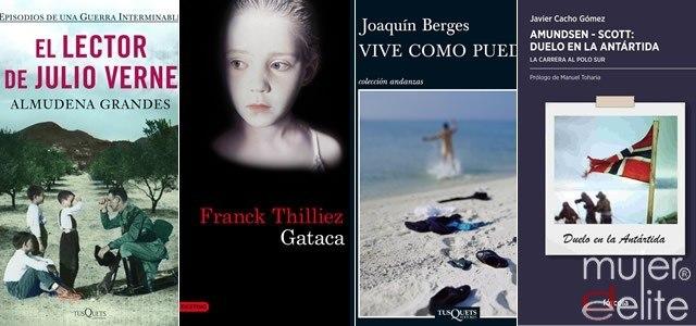 Foto Libros para regalar el Día del Padre: El lector de Julio Verne, Gataca, Vive como puedas y AmundsenScott: Duelo en la Antártida
