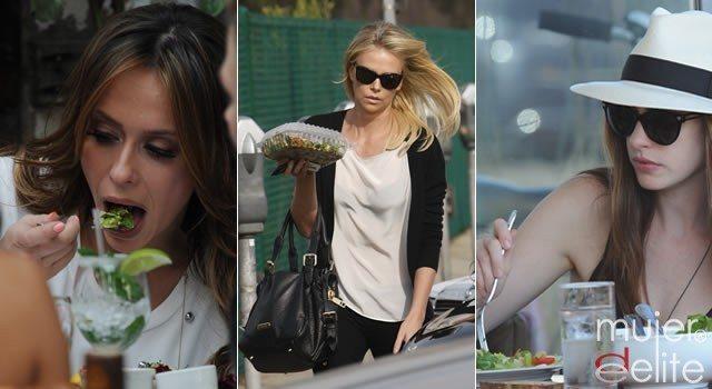 Foto Las dietas y ejercicios a los que se someten las famosas