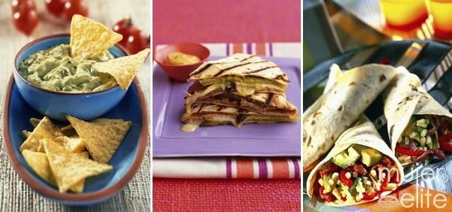 Foto Guacamole, quesadillas y enchiladas, delicias de la cocina mexicana
