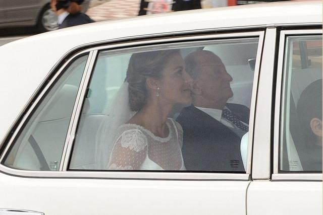 Foto Beatriz Mira el día de su boda con Álvaro Fuster