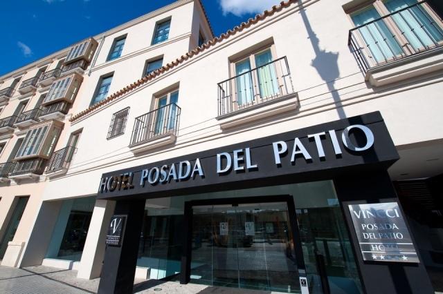 Foto Fachada del Hotel Vincci Selección Posada del Patio en Málaga