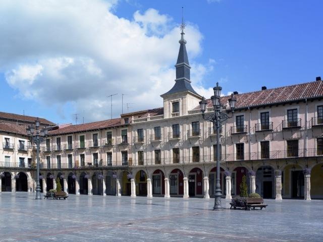 Foto Fachada del Hotel NH Plaza Mayor en León