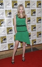 Amanda Seyfried, ideal en verde