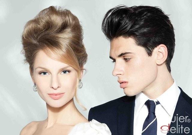 Foto Los peinados de novia, sensuales y glamourosos