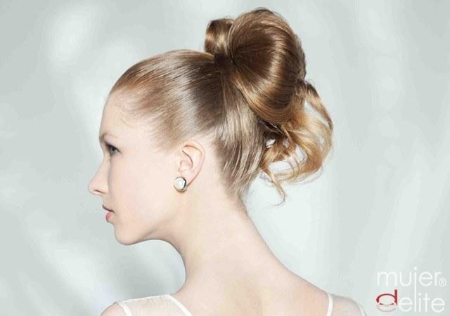 Foto Peinados de novia elegantes pero cargados de seducción