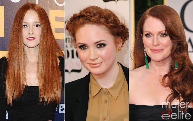 Foto Las famosas pelirrojas y su maquillaje