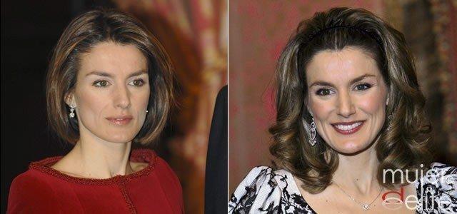Foto Doña Letizia Ortiz y sus cambios de look