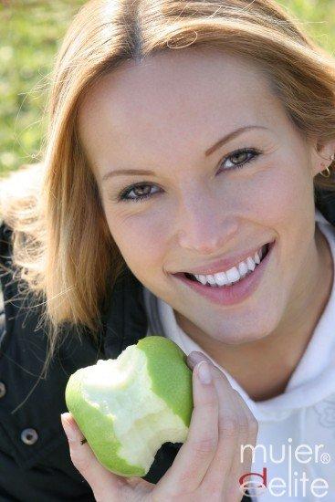 Foto Dieta para unos dientes blancos y sanos