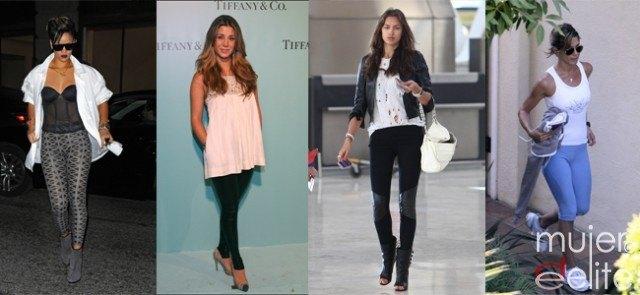 Foto Elena Tablada, Irina Shayk, Britney Spears, Rihanna, Jennifer Aniston... adoran sus leggings