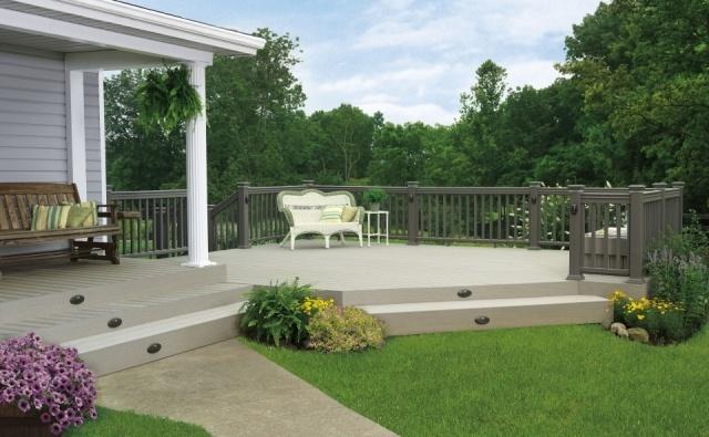 Cmo decorar jardines terrazas y porches en verano fotos - Porches para jardin ...