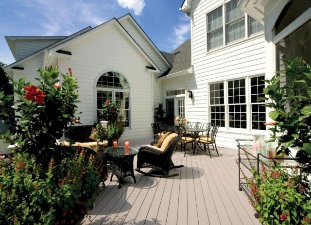 Decoracin de exteriores jardines y terrazas a todo color - Decoracion terrazas exteriores ...