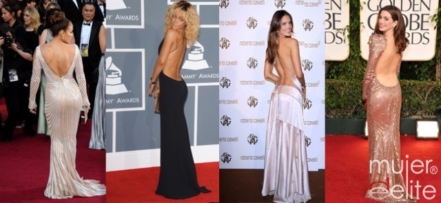 Foto Las espaldas más sexys: Jennifer López, Rihanna, Alessandra Ambrosio, Anne Hathaway