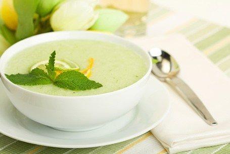 Foto Sopa fría de melón, ideal para el verano