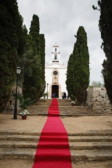 Foto Iglesia de Nostra Senyora de L´Esperança en el Hostal de la Gavina en S´Agaró, Girona