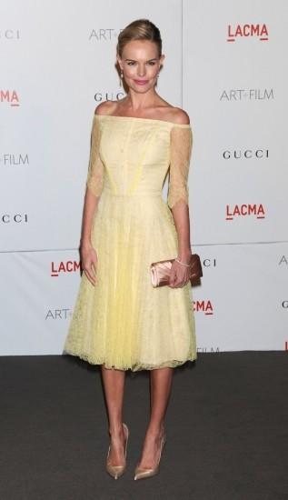 Foto Kate Bosworth, dulzura en pastel y encaje