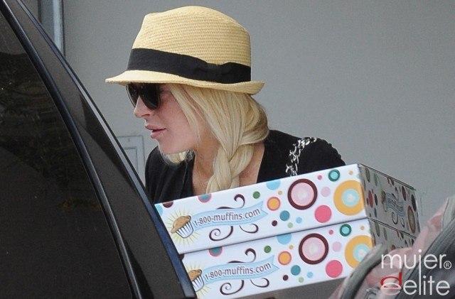Foto Lindsay Lohan, fan de los muffins