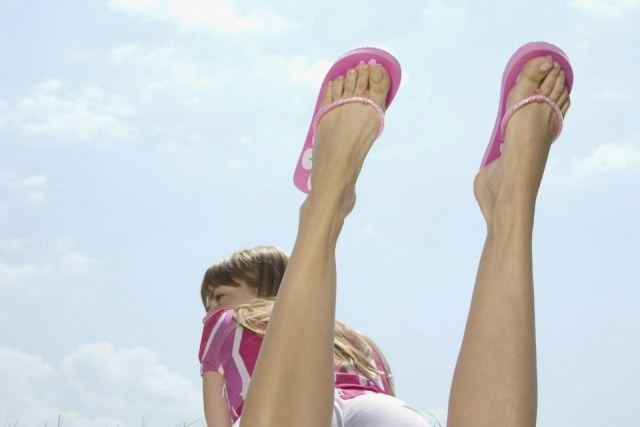 Foto Los pies, claves en un look perfecto