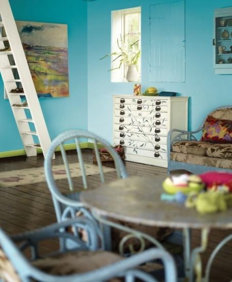 Foto El turquesa y el verde lima, perfectos para las habitaciones juveniles