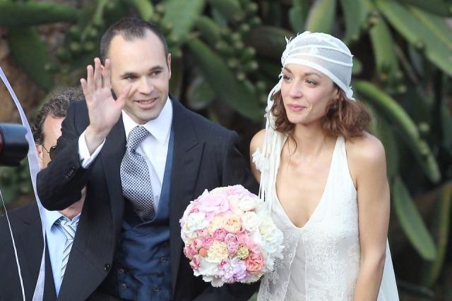 Foto Andrés Iniesta y Anna Ortiz, el día de su boda
