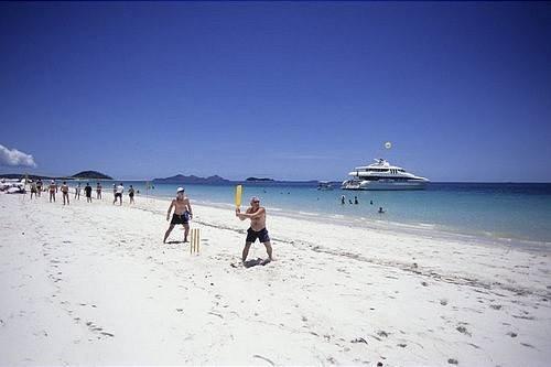Foto Whitehaven Beach en Australia