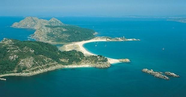 Foto Las Islas Cíes en España