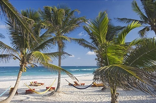 Foto Playa Tulum en México
