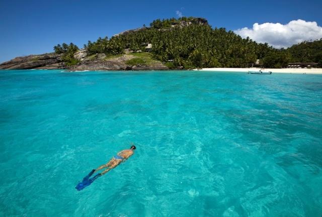 Foto Paradisiaca playa en Islas Seychelles