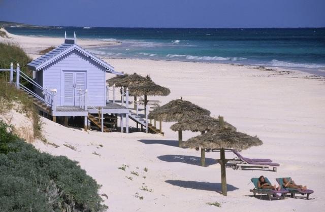 Foto Pink Sand Beach en Las Bahamas