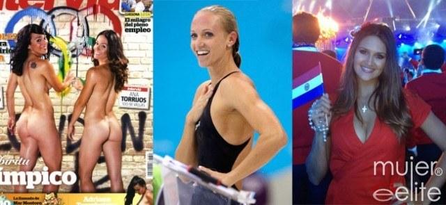 Foto Patricia Sarrapio, Ana Torrijos, Dana Vollmer y Leryn Franco, entre las deportistas más sexys de los Juegos Olímpicos