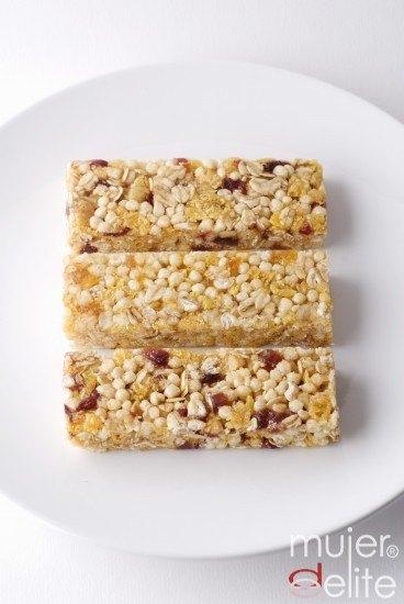 Foto Barritas de cereales ¡un sano placer!
