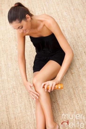 Foto Aceites esenciales para proteger la piel y prolongar el moreno