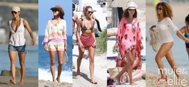 Foto Halle Berry, Alessandra Ambrosio, Candice Swanepoel, Paula Echevarría y Rihanna