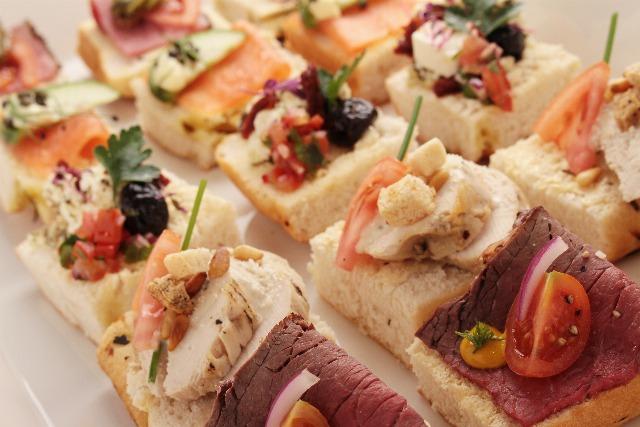 Foto Los canapés, imprescindibles para un buffet en casa