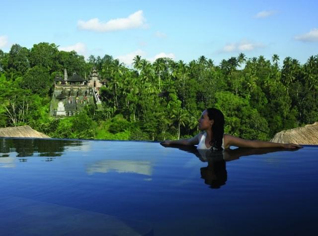 Foto Piscinas del hotel Ubud Hanging Gardens