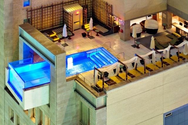 Foto Piscina del hotel The Joule Dallas